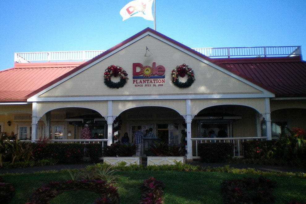 Dole Plantation and Pineapple Garden Maze