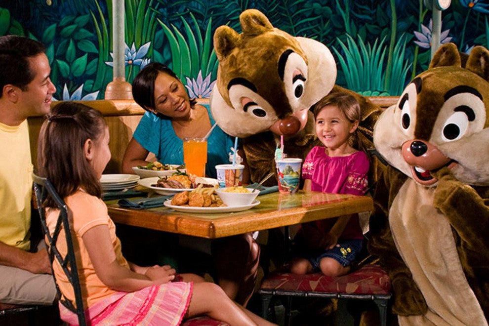 Orlando Character Dining Restaurants 10best Restaurant