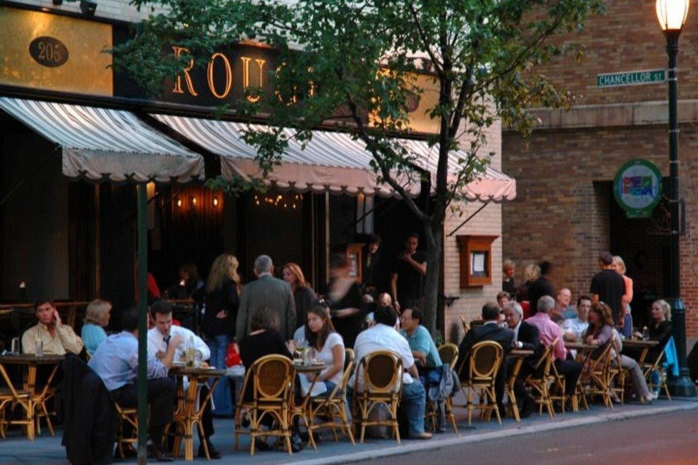 Rouge brought outdoor dining to Rittenhouse Square
