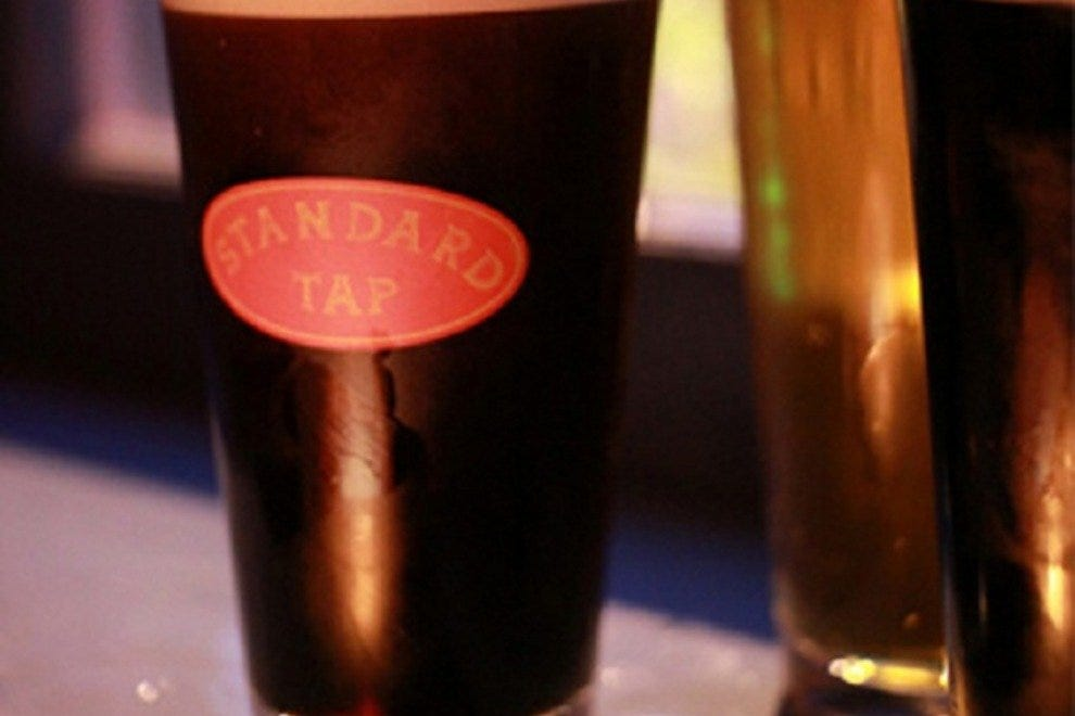 Standard Tap was the first bar in the city to sell only local brews