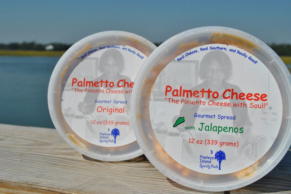Pawley's Island SC for spicy pimento cheese