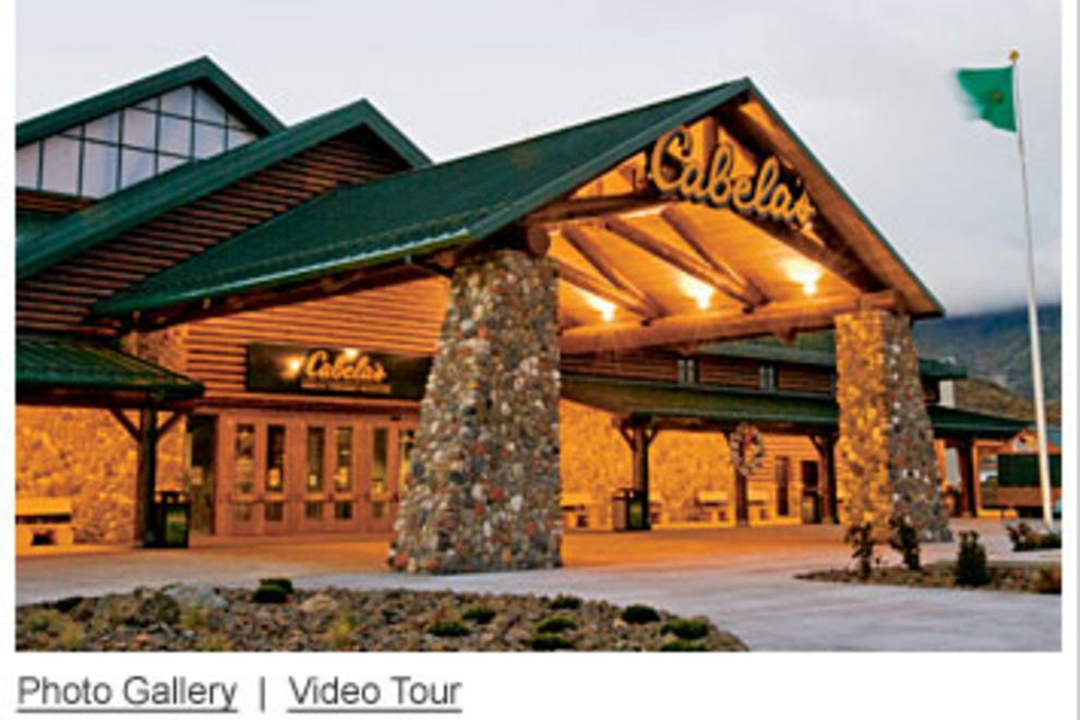Description. Cabela's Winnipeg is located at the intersection of Sterling Lyon Parkway and Kenaston Boulevard. The 70,square-foot store features a conservation mountain, archery range, world-class Gun Library, and hundreds of wild game trophies.
