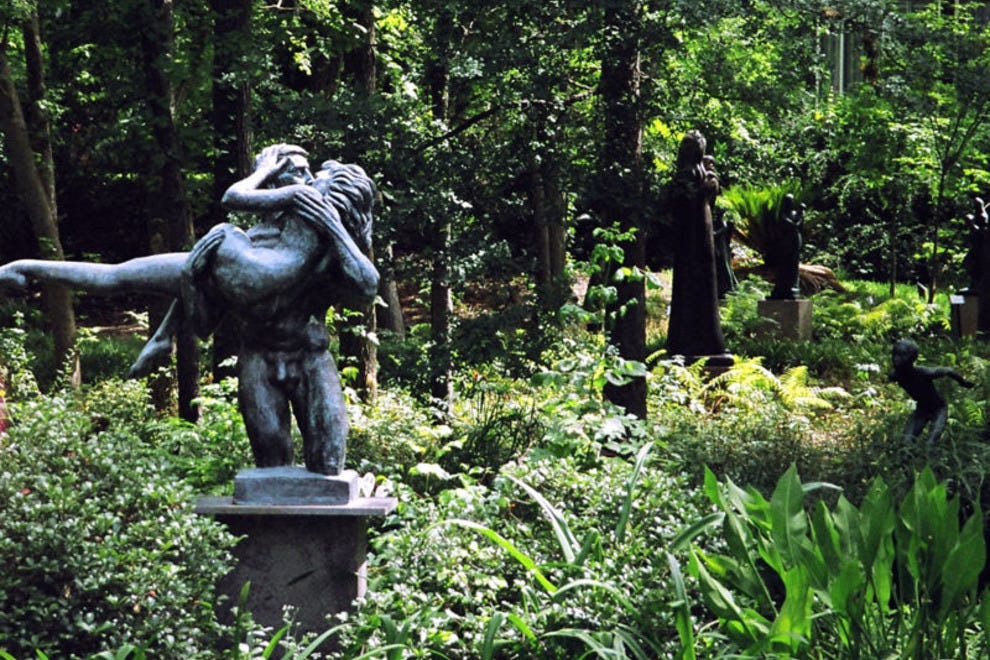 Umlauf sculpture garden museum austin attractions Austin home amp garden show