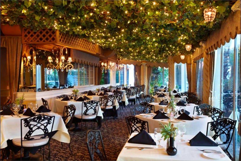 Romantic Restaurants Downtown Palm Springs