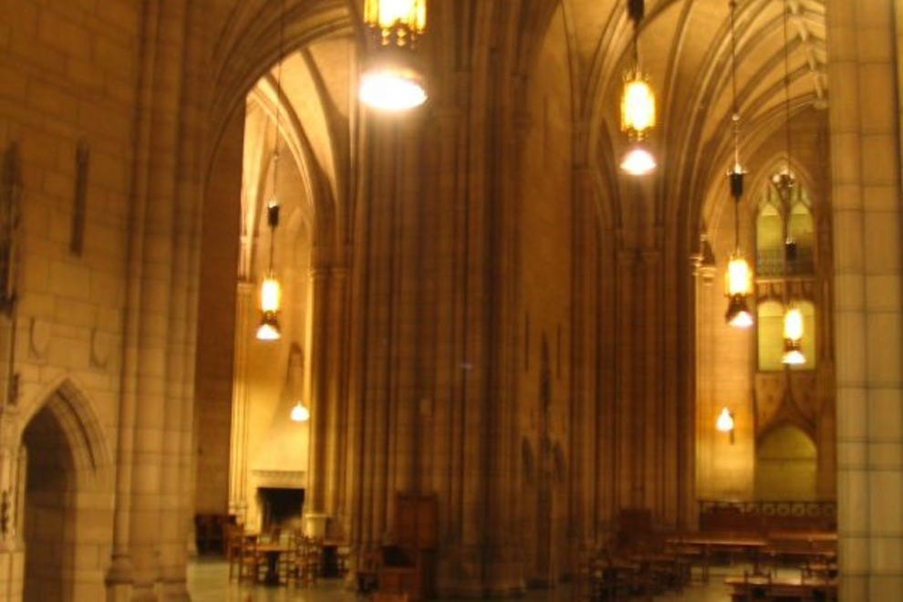Commons Room in the Cathedral of Learning