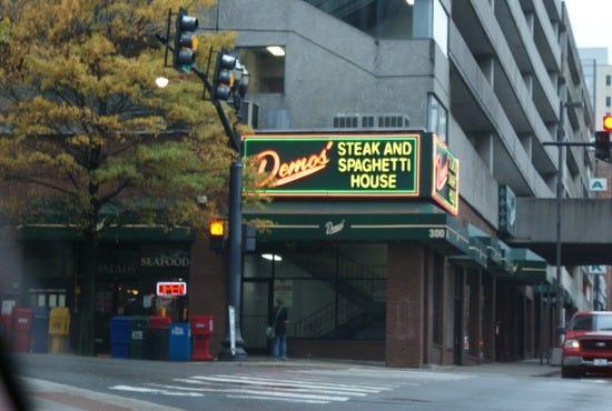 Demos restaurant downtown nashville tn home design idea