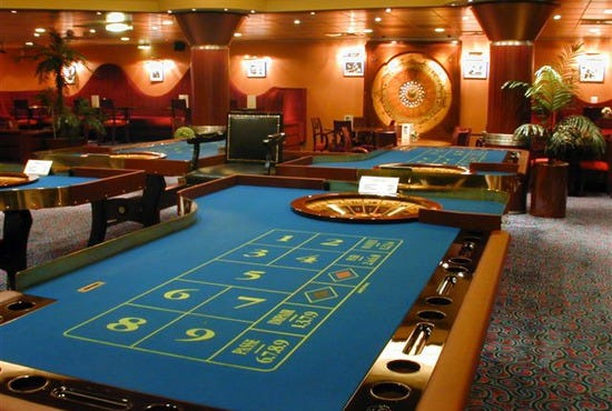 Good blackjack table - Dubai Palace Casino