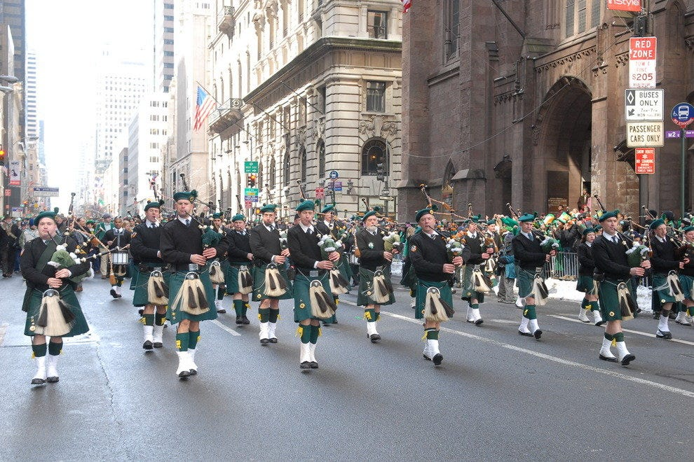 St. Patrick's Day Parade & Celebration on the River