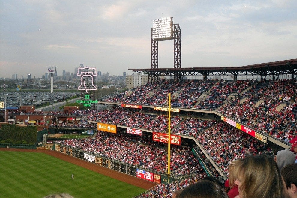 Catch A Phillies Game Philadelphia Attractions Review