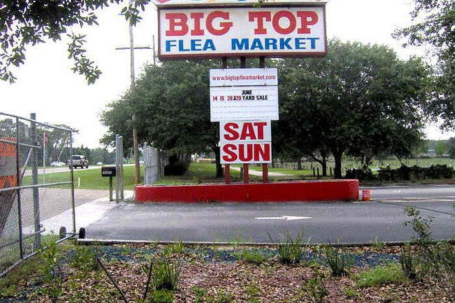 Big Top Flea Market
