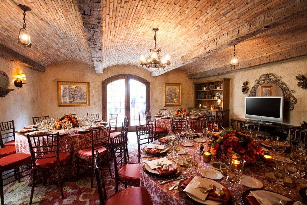 Santa barbara romantic dining restaurants 10best for Romantic restaurants in california