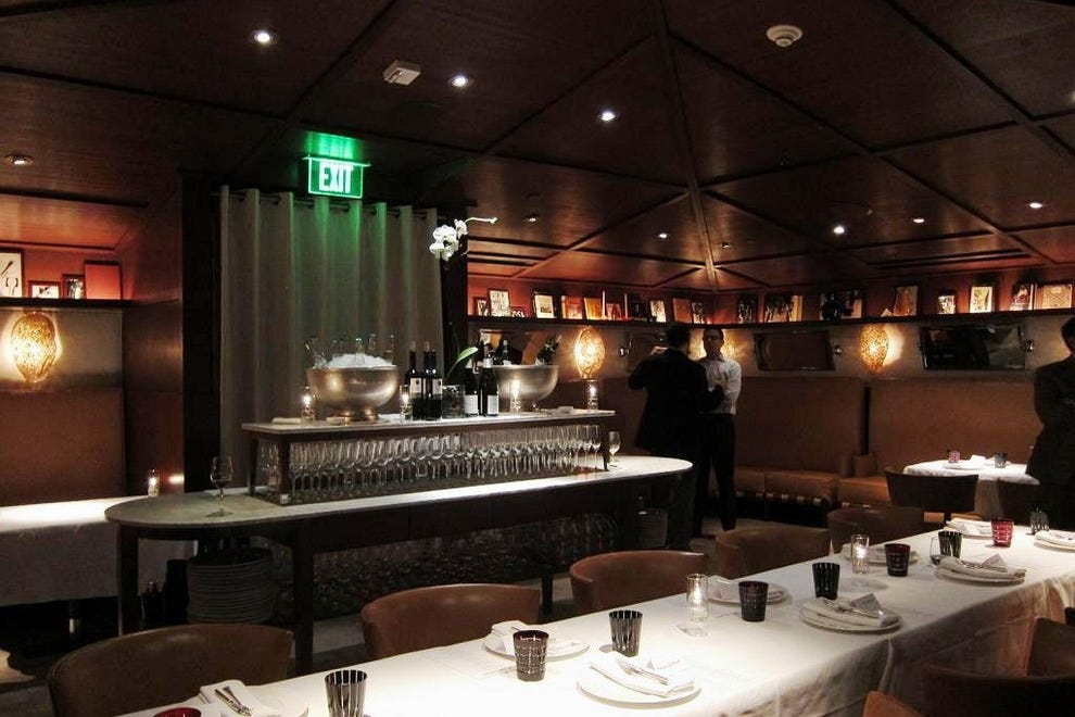 Tres by jos andr s los angeles restaurants review for Best private dining rooms los angeles