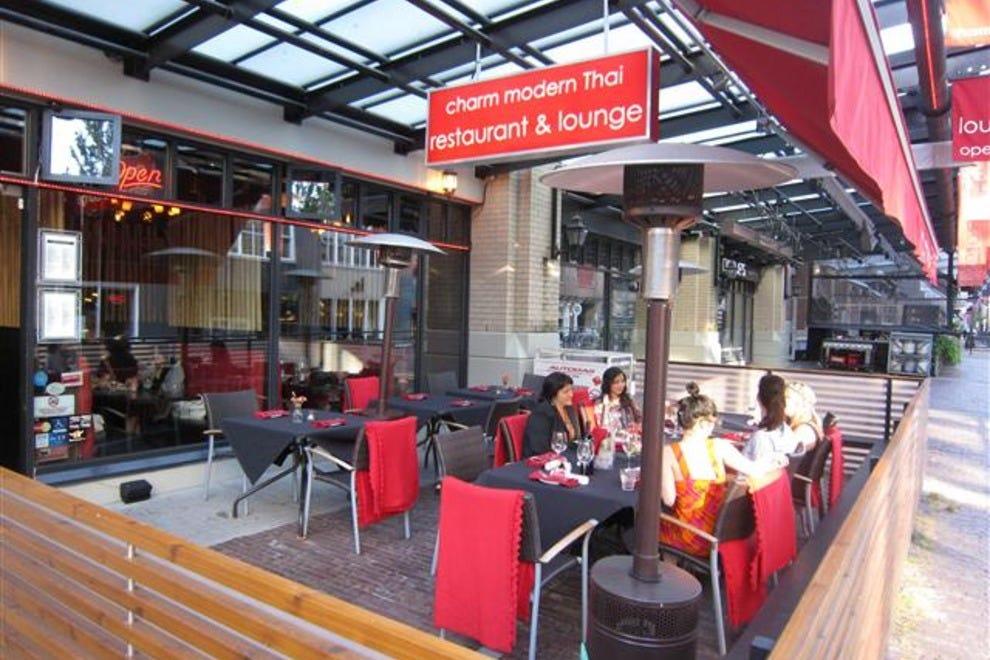 charm modern thai restaurant vancouver restaurants review