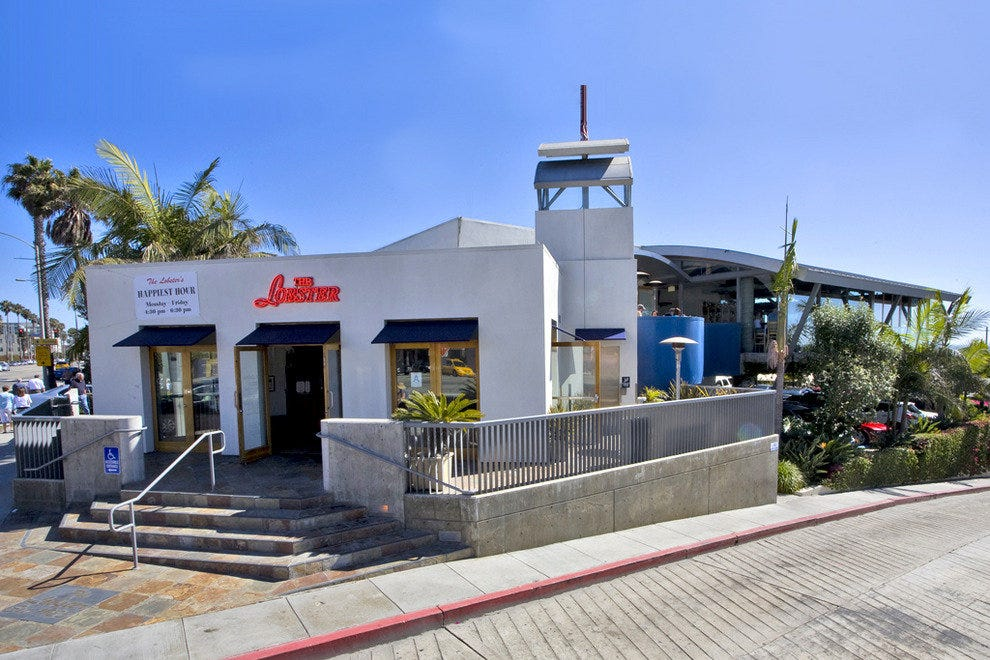 Seafood Restaurant Santa Monica California