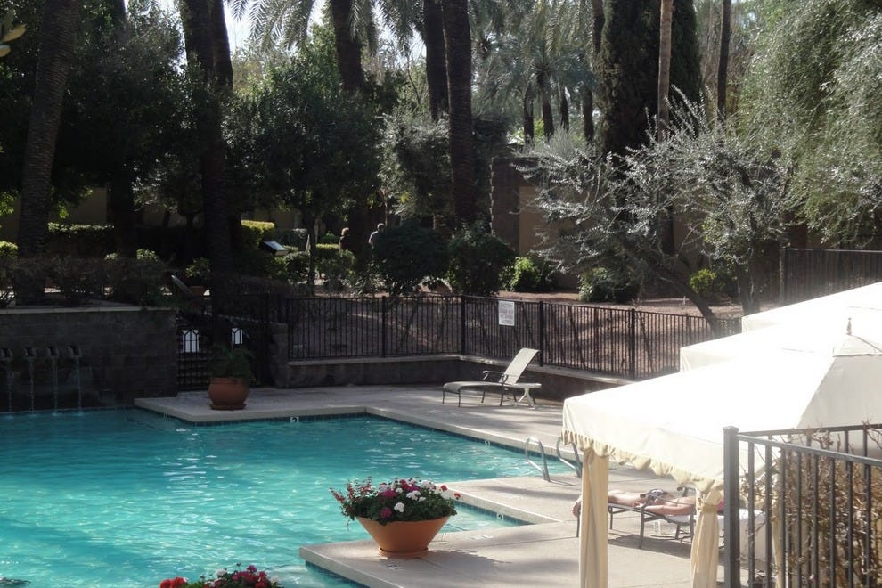 Loggia Lounge At The Double Tree Paradise Valley Resort/Scottsdale