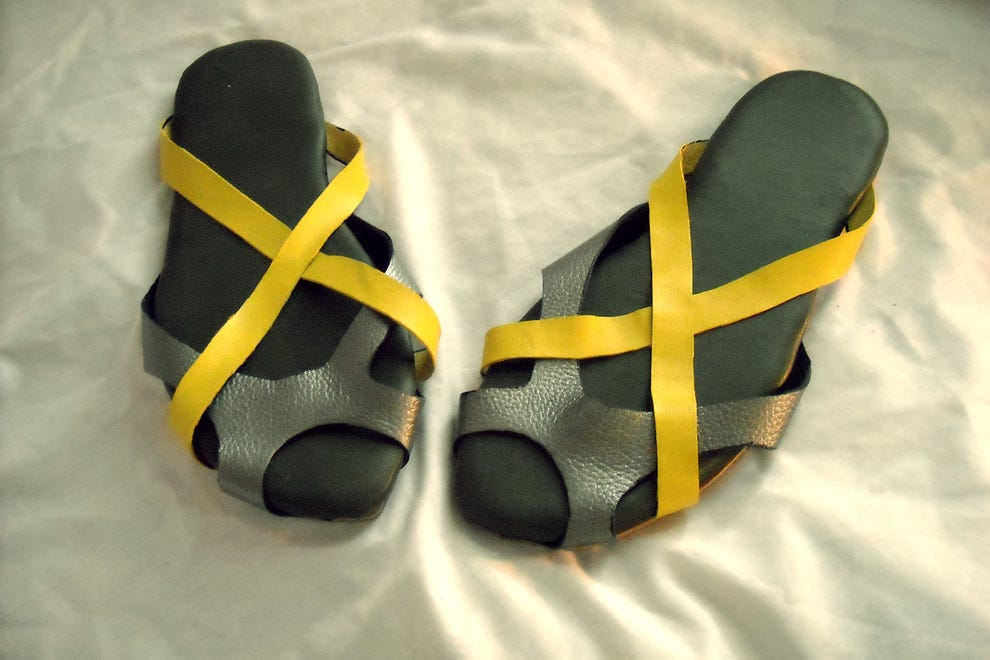Klass Kraft Leather Sandals