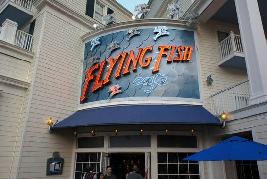 Flying fish cafe orlando restaurants review 10best for Fish restaurant orlando