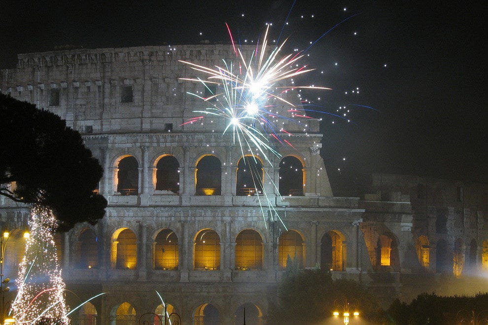 The Eternal City a Spectacular Holiday Visit