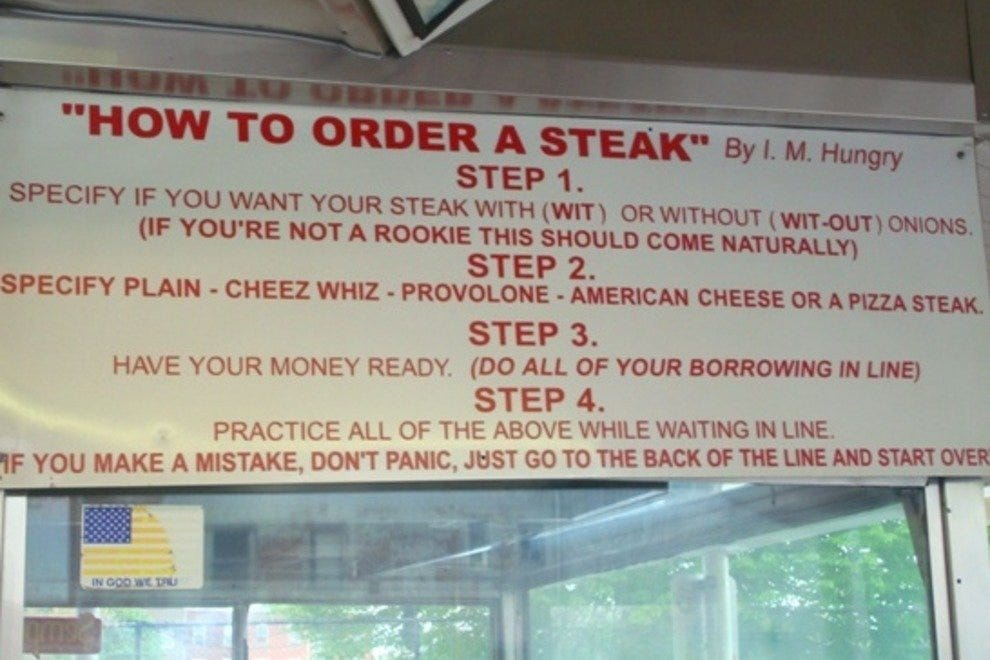 Pat's King of Steaks