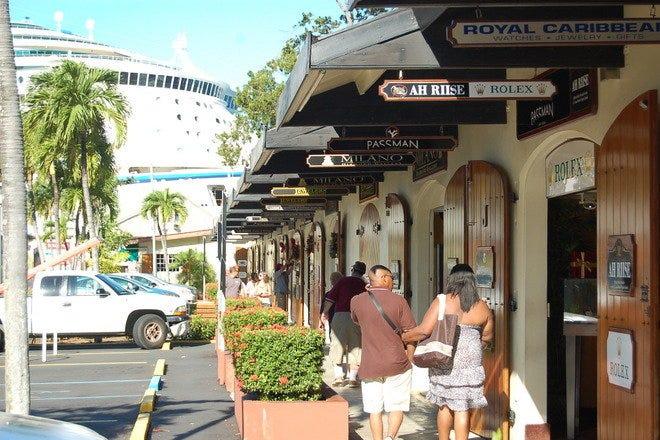Shopping near Cruise Port - St. Thomas