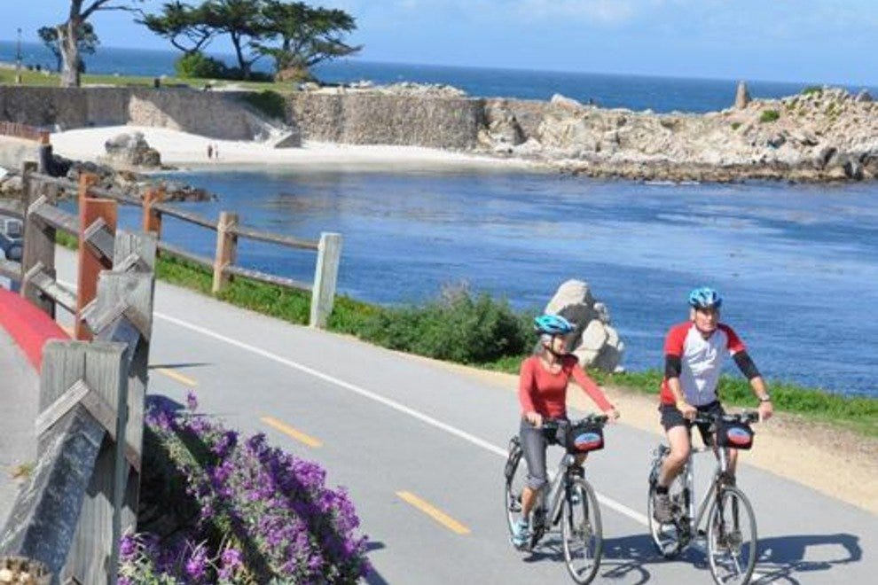 Explore the Monterey Bay upclose and personal with a ride along the Monterey Bay Coastal Trail.