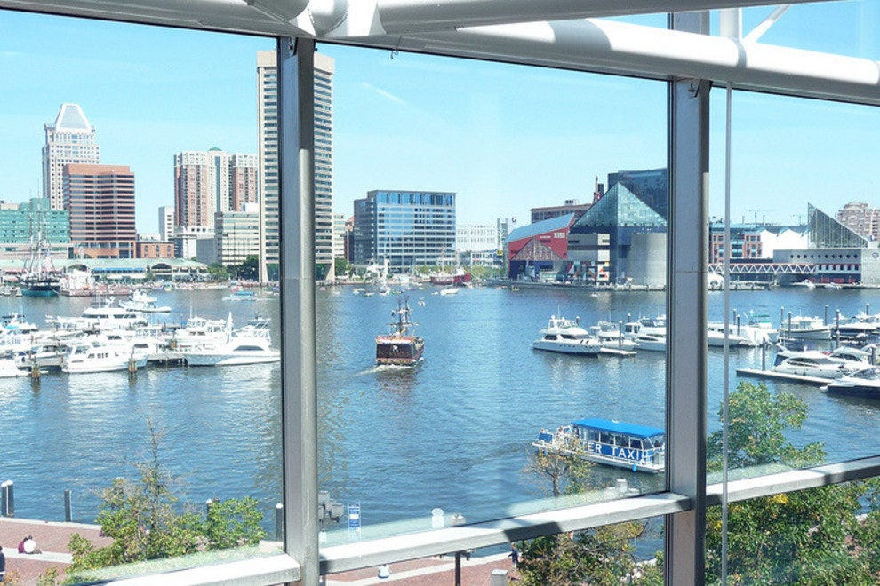 The Harbor through Glass
