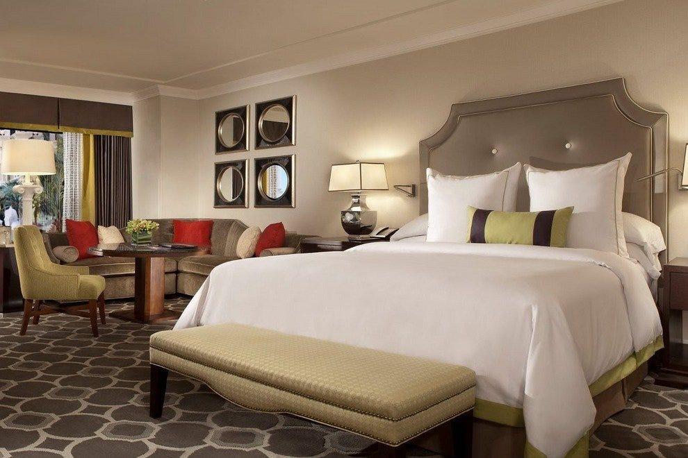 Caesars Palace Octavius Premium Room King Bed