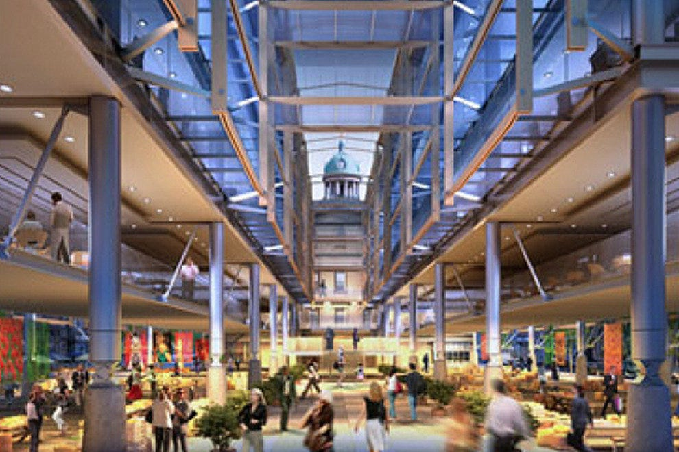 The proposed design for the North Market