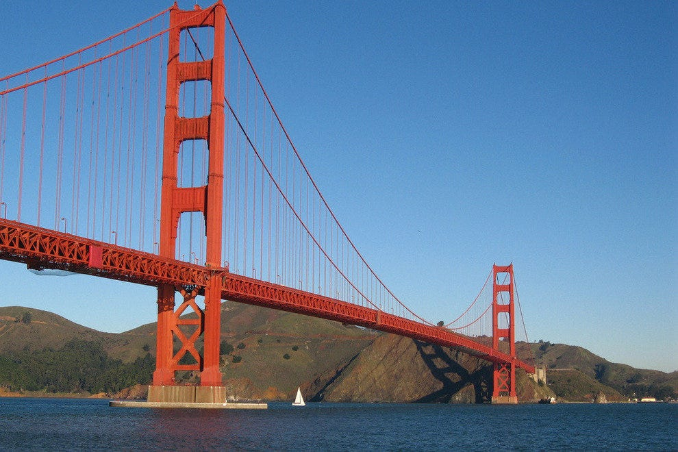 Walk onto the Golden Gate and you'll never forget the view or the sensation