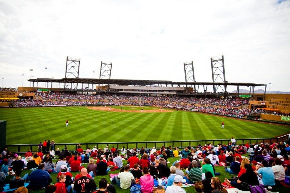 Salt River Fields is the new spring training home of the Arizona Diamondbacks.