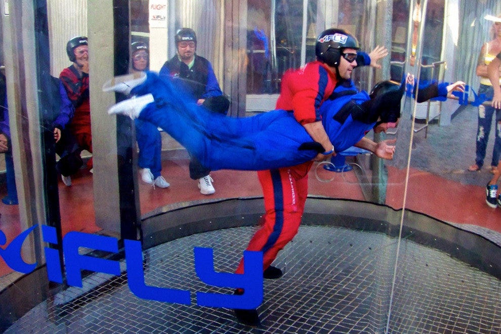 iFly Windtunnel in the Salomon Center