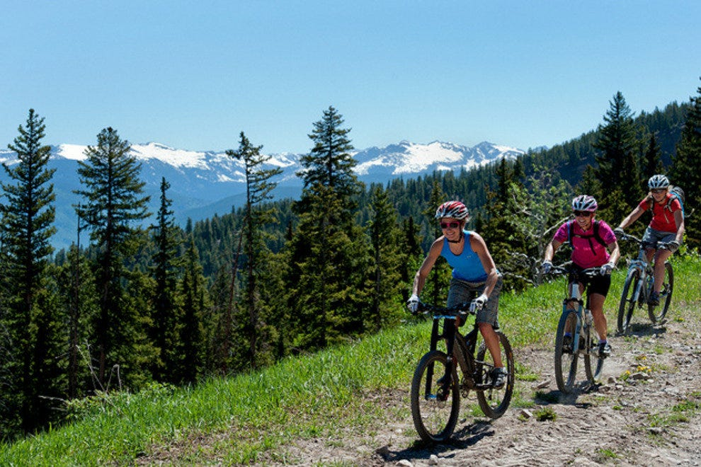Mountain Biking at Snowmass