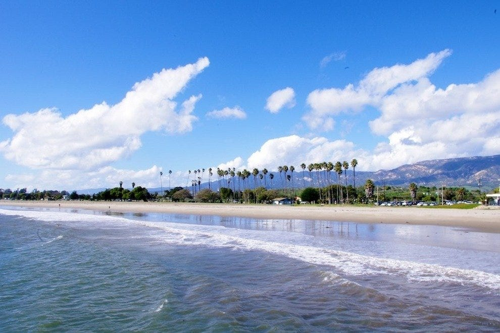 Goleta Beach and State Park