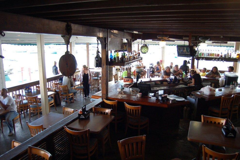 carrabbas restaurant in st. thomas virgin islands
