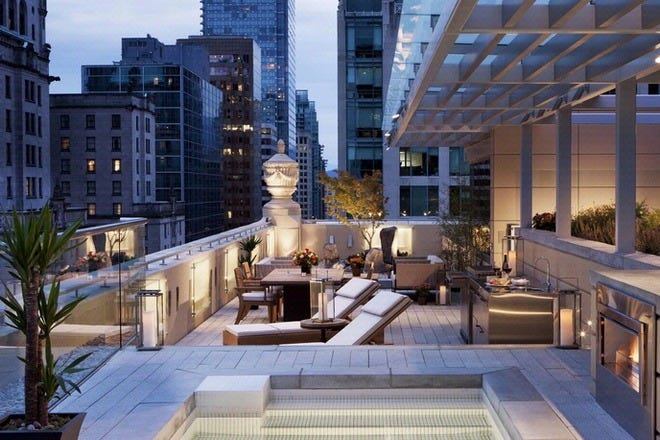 Hotel Slideshow Luxury Hotels In Vancouver