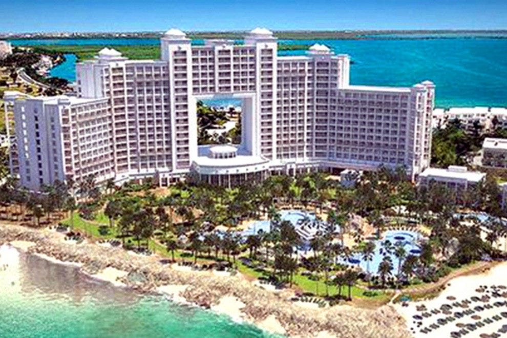 An Artist S Rendering Of The Riu Palace Peninsula Which Is Curly Under Construction Photo Courtesy Hotels Resorts