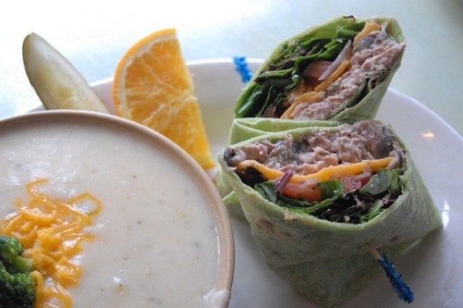 Lunch in Charleston