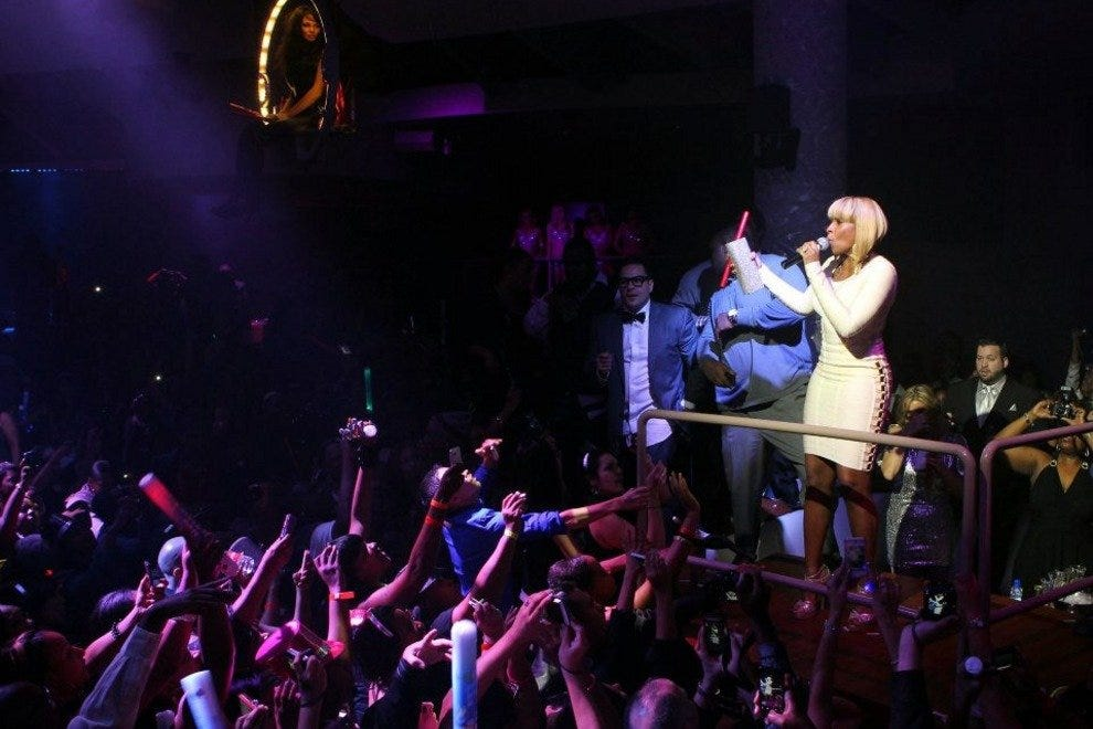 Mary J. Blige on Opening Night at RPM