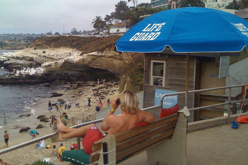 La Jolla Beach, California, near San Diego