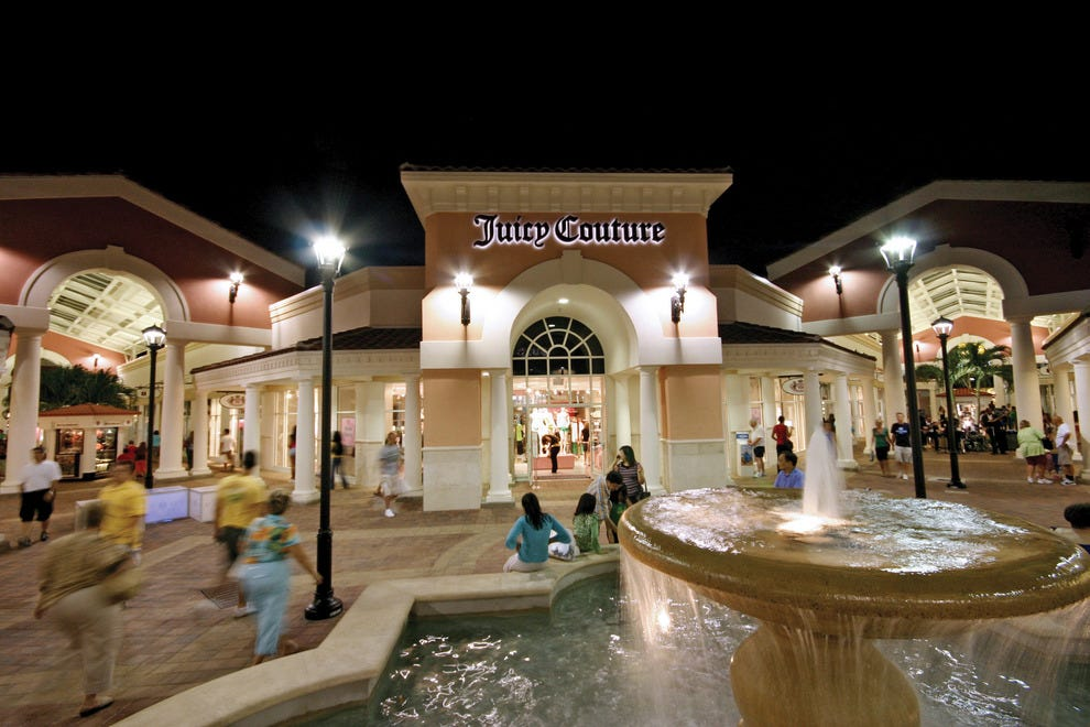 Designer Outlets in Orlando Lake Buena Vista Factory Stores You'll find designer names in 50 village-style shops at this outlet, which is just 1 mile from Walt Disney World Resort.