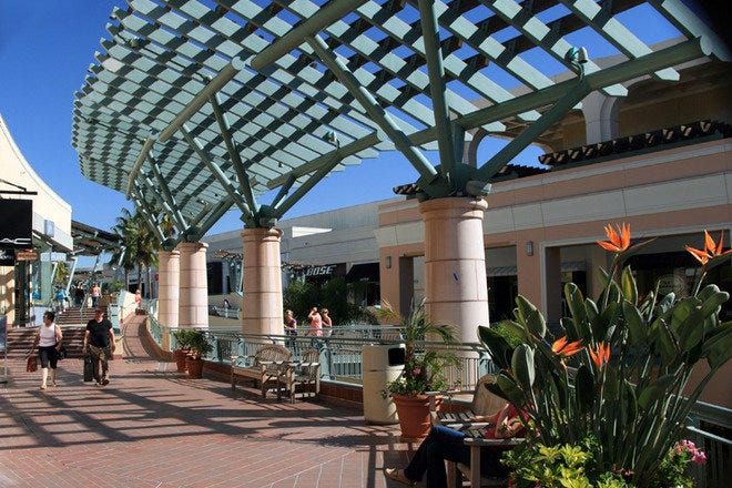 Shopping Malls and Centers in San Diego