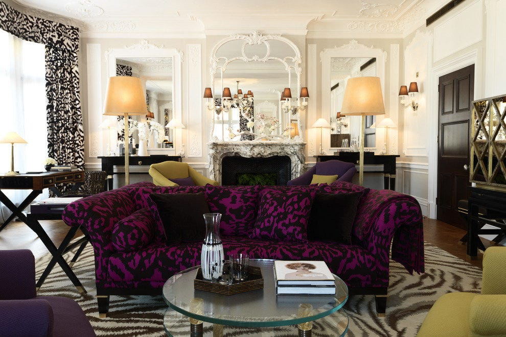 London's famed Claridge's hotel has a suite named for designer Gloria von Furstenberg