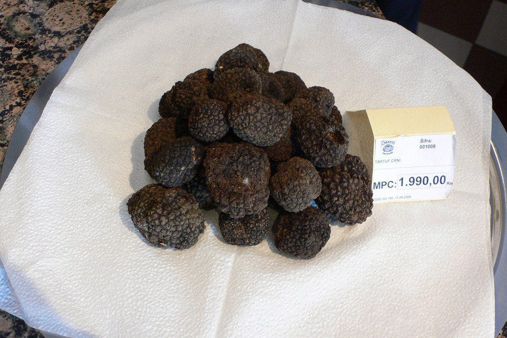 Truffles are bought and sold by weight