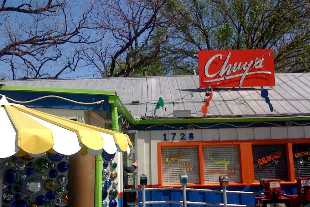 Chuy 39 s austin restaurants review 10best experts and for Fish store austin