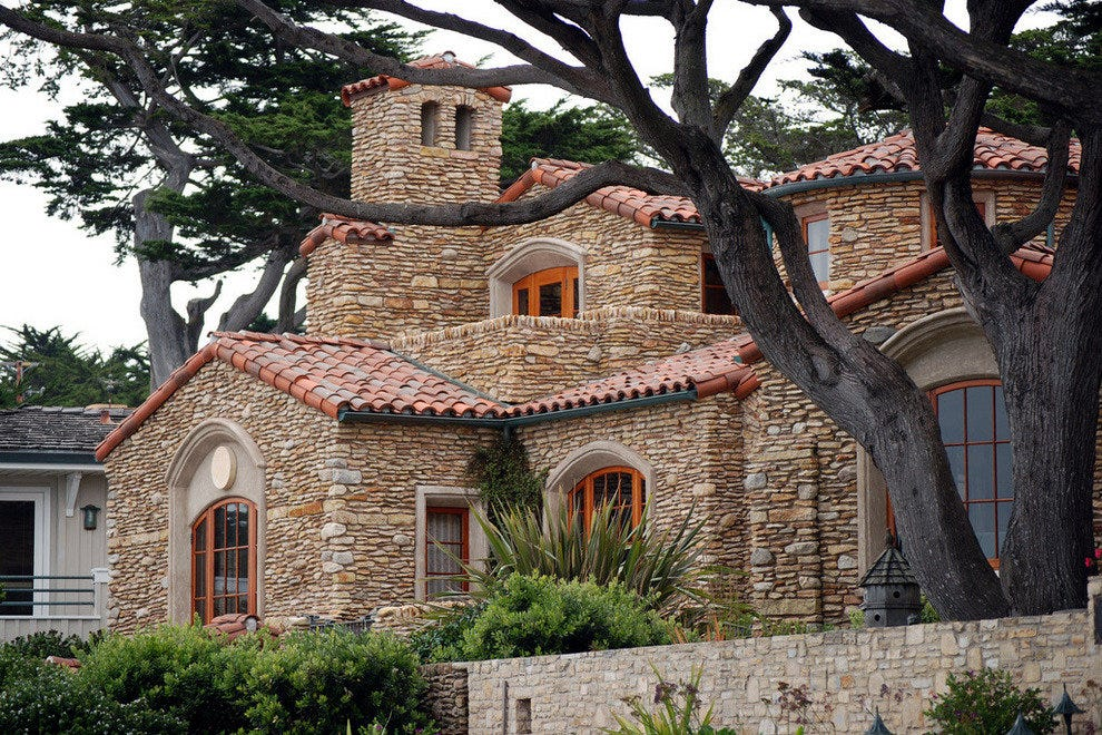 Carmel's architecture is as lovely as its setting