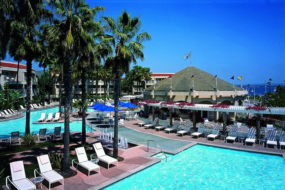 Loews Coronado Bay Resort, poolside