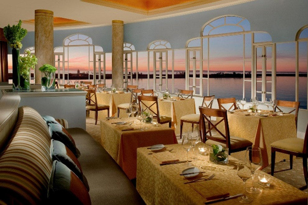 Mistral Restaurant Offers French Cuisine with a View
