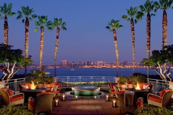 Loews Coronado Bay Resort Paradise Minutes From San Diego
