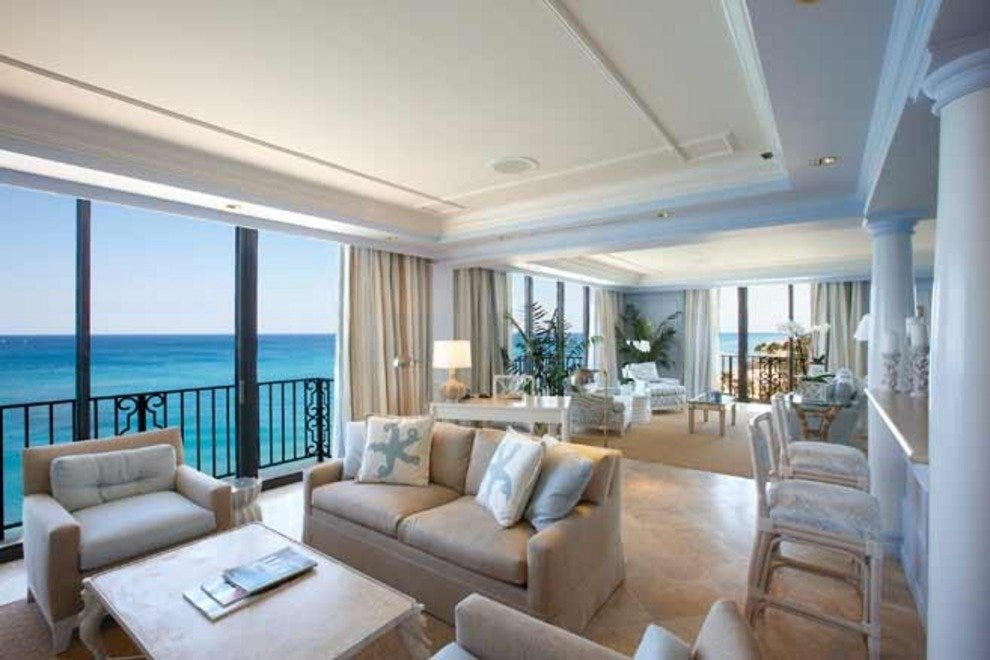 A Breakers suite shows off sweeping ocean views