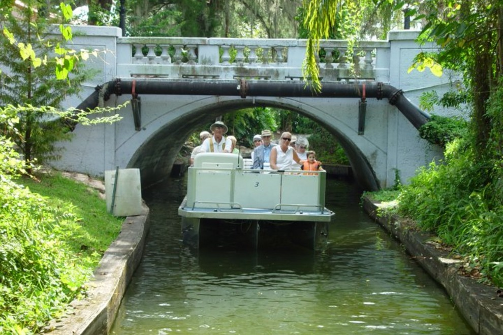 Scenic Boat Tour Winter Park Fl
